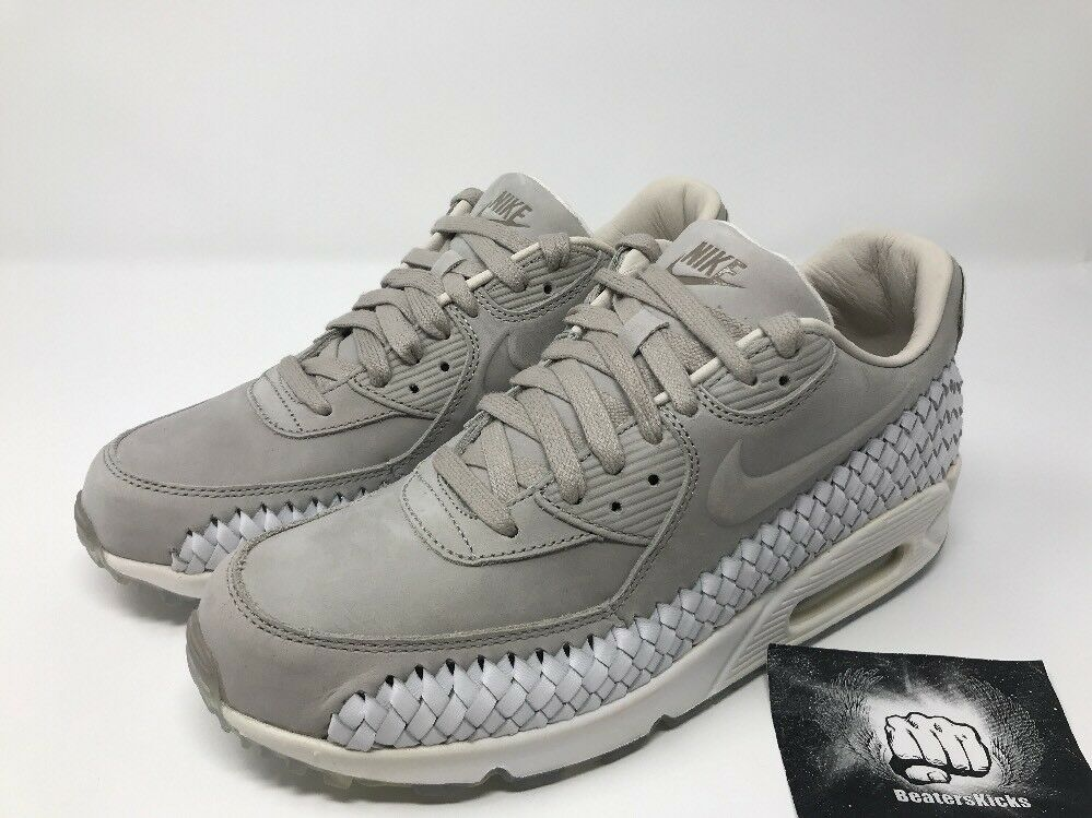 timeless design d1c10 0e569 Nike Air Max 90 Woven Phantom Phantom Phantom Light Iron Ore White Men s US  7.5  833129-005  c1cc7a