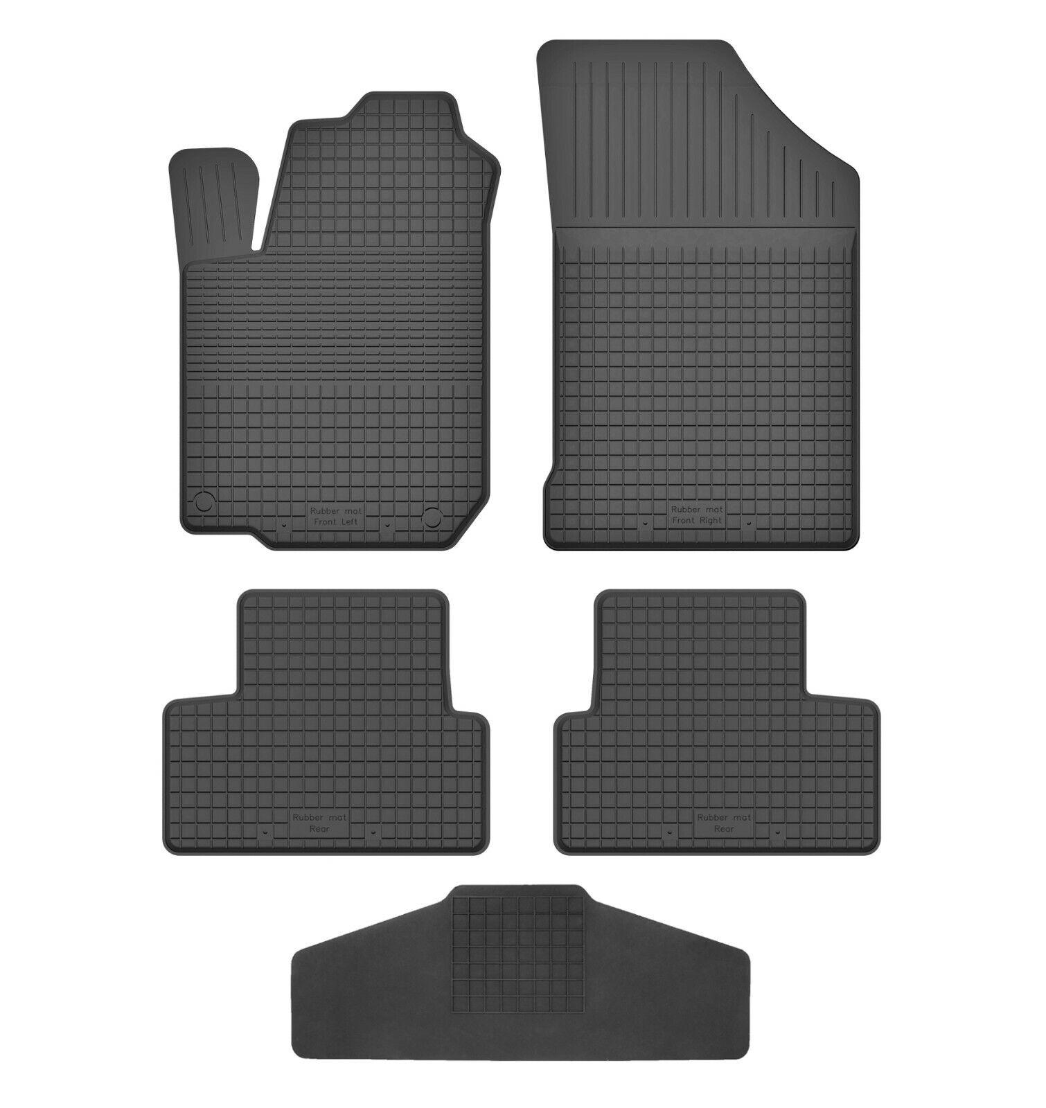3D Gummifußmatten Gummimatten für Toyota Aygo 2005-2014 4-tlg Set