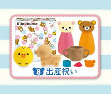 Re-ment Sanrio Miniatures Rilakkuma Coffee & Food Gift Set san-x rement #8