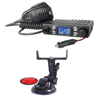 Handys & Kommunikation Set Team Minicom Mit Stecker Cb-funkgerät Mit Saughalterung Ein Kunststoffkoffer Ist FüR Die Sichere Lagerung Kompartimentiert
