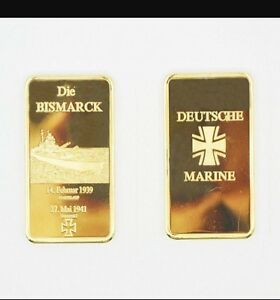 Die Bismarck Marine collective gold bullion bar-afficher le titre d`origine H5MIBj7l-07140640-139833753
