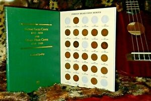 1883-1909-Indian-Head-Cent-Coin-Collection-with-Folder