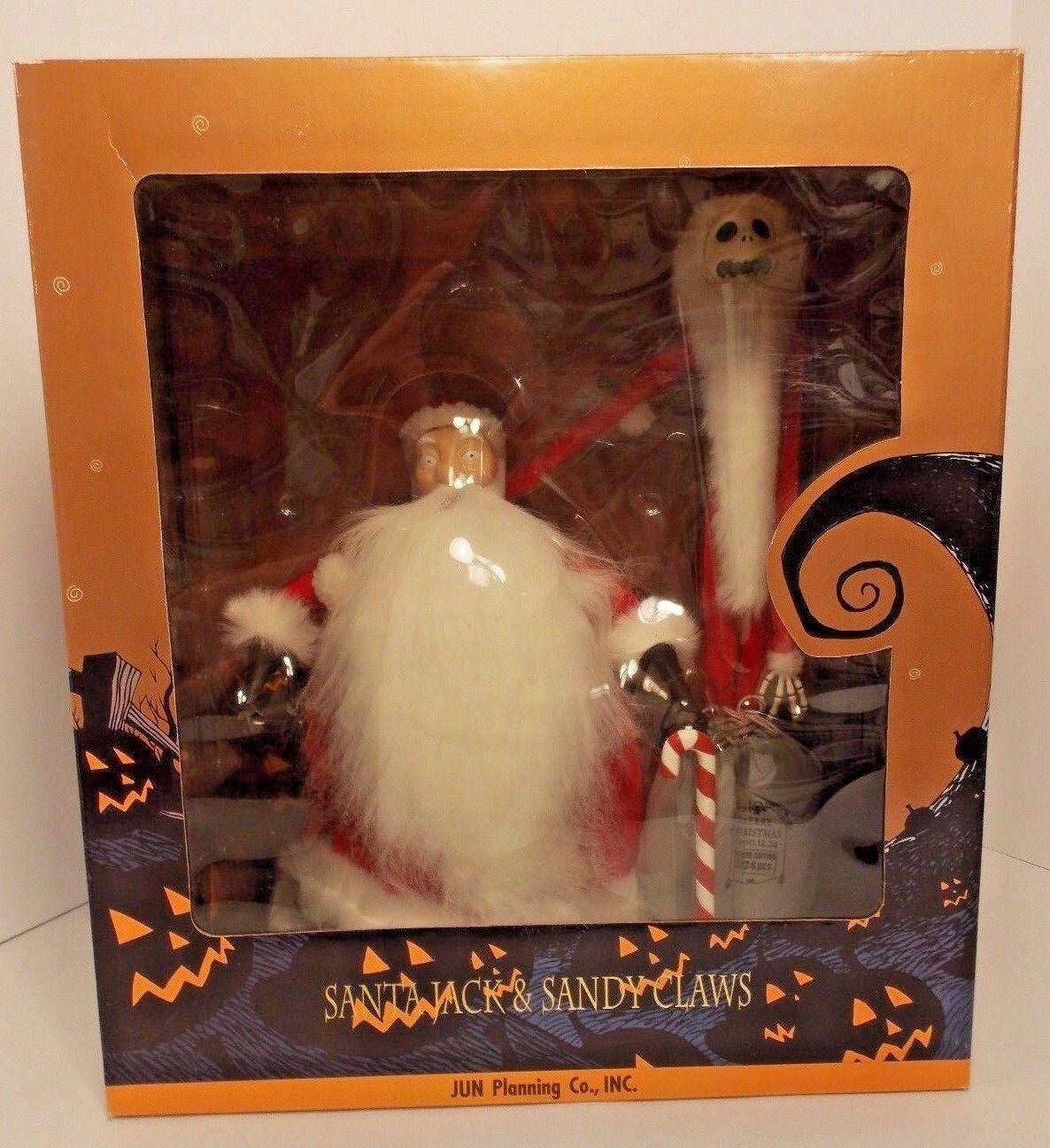 Envío rápido y el mejor servicio NUEVO NIGHTMARE CHRISTMAS SANTA JACK JACK JACK & SANDY BEFORE CLAWS Muñecas Ed japonés.  liquidación hasta el 70%