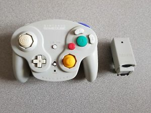 NINTENDO-MANETTE-GAME-CUBE-GAMECUBE-WAVE-BIRD-Sans-Boite