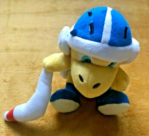 "Size 8/"" 20cm NEW Boomerang Bro Soft Toy Super Mario Plush Teddy"