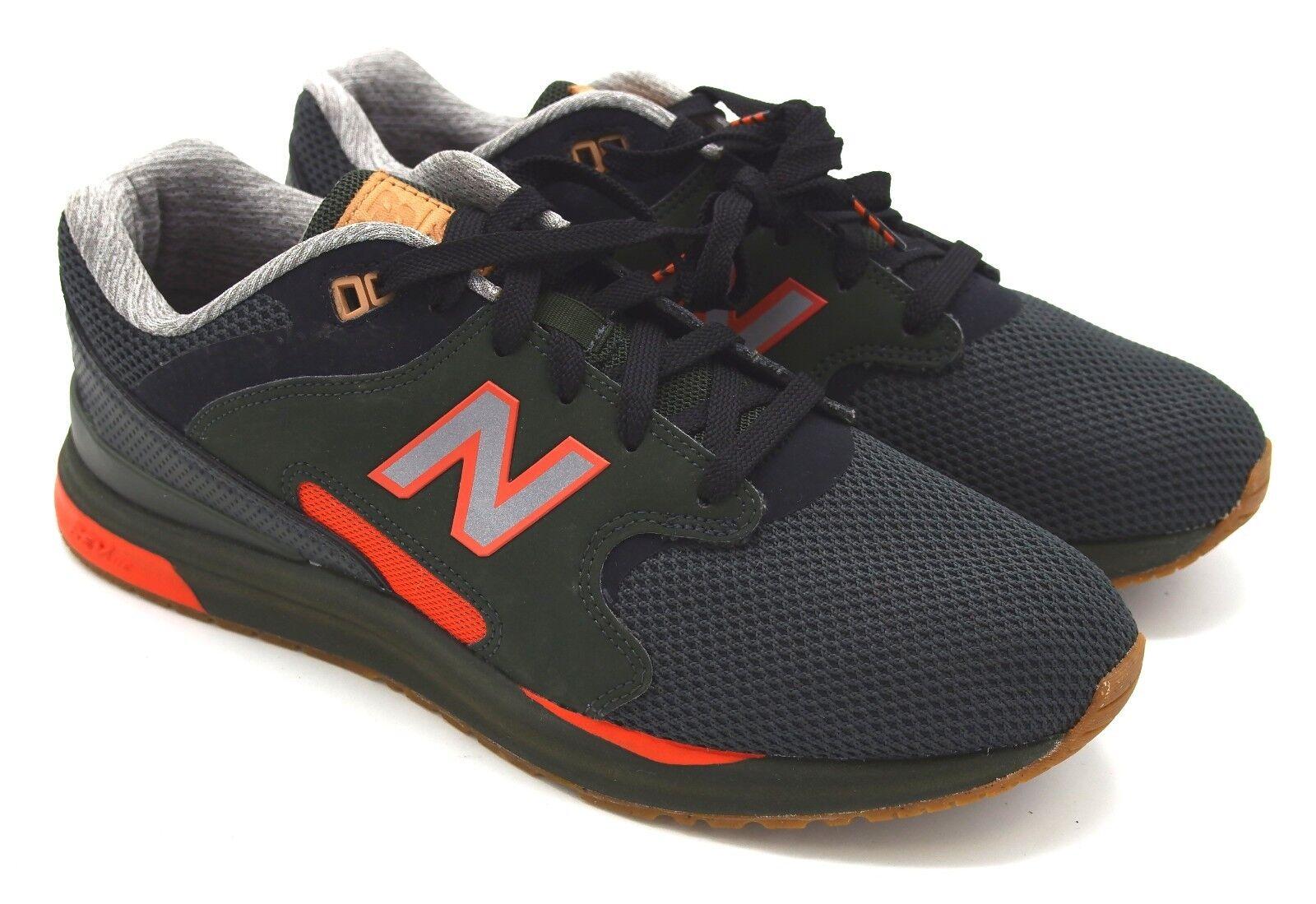 J5863 New Men's New Balance ML1550AF Black orange Rev Lite Sneaker 9.5 M