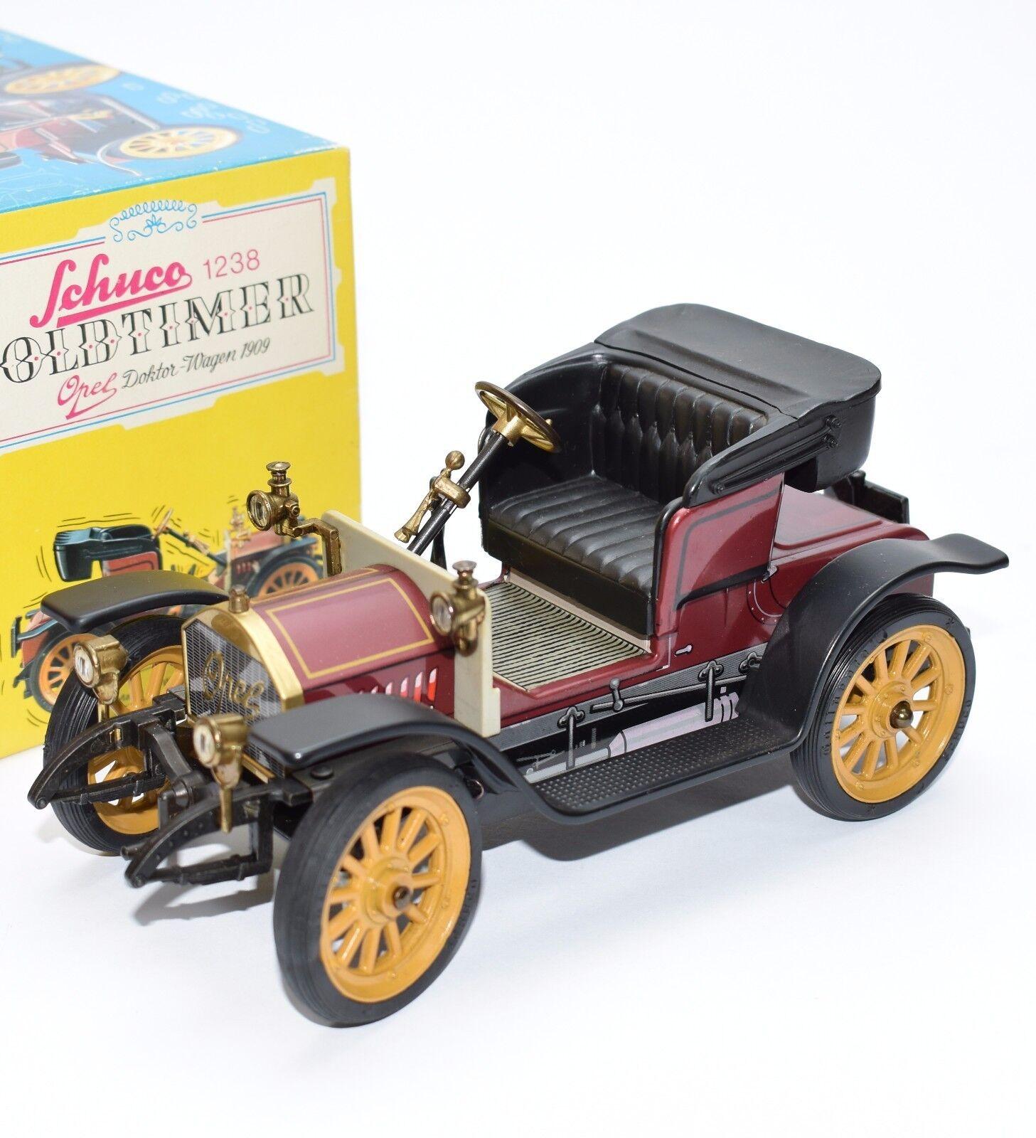 Entrega rápida y envío gratis en todos los pedidos. SCHUCO SCHUCO SCHUCO RAR 1238 limitada coche replica lata vintage coche Opel consultorio en 1909, OVP B309  tienda de pescado para la venta