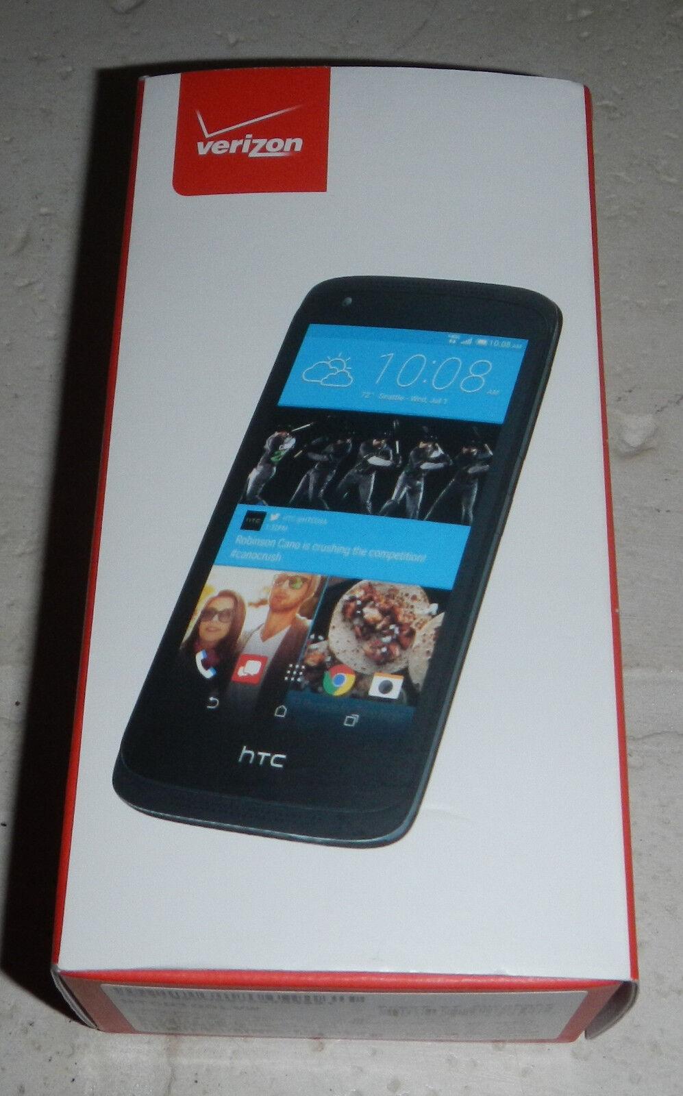 NIB HTC Desire 526 HTCD100LVW Prepaid Smartphone Cell Phone