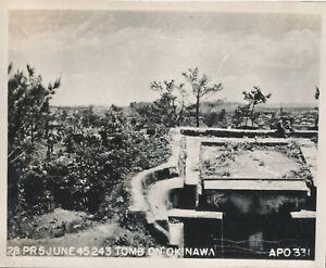WWII-June-1945-US-Okinawa-Photo-Okinawa-Tomb