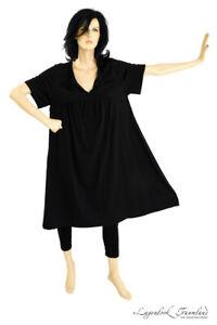 MAT Fashion - Lagenlook TUNIKA KLEID Gr 44 46 48 50 52 ...