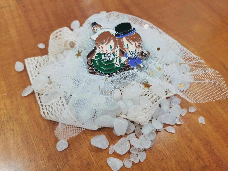 Anime JAPAN Peach-Pit manga: Rozen Maiden Metal Badge Brooch Pin Collection