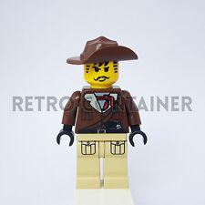 LEGO Minifigures - 1x adv037 - Johnny Thunder - Adventurers Omino Minifig 7417