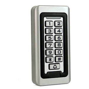Image Is Loading New Waterproof Keypad Standalone Access Control Home Door