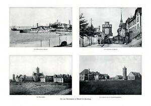 Neue-Marineschule-Muerwik-XL-Seite-1910-mit-4-Fotoabb-Flensburg-Torwache-Marine