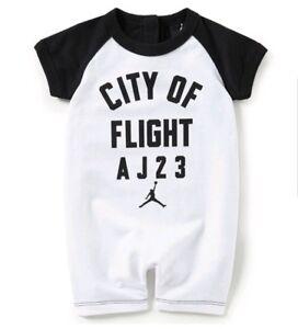 4b3d10c93 Nike Air Jordan Infant Boys Ringer T Romper Size 3-6 Months | eBay