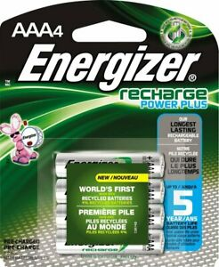 BRAND-NEW-ENERGIZER-AAA-Rechargeable-NiMH-Batteries-4-Pack-800-mAh