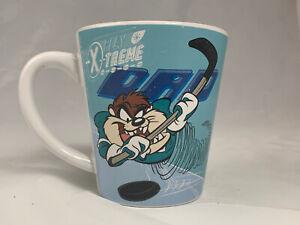 Taz-Dad-Play-X-Treme-Sports-Coffee-Mug-Baseball-Hockey-WB-Looney-Tunes-2000