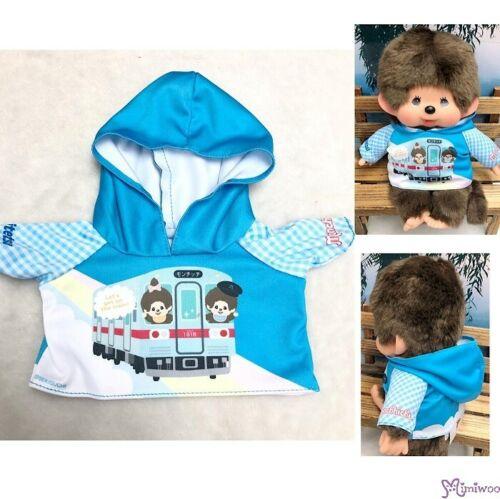 Monchhichi M Size Nishitetsu x MCC Limited Hooded Coat Blue 754779 ~ PRE-ORDER ~