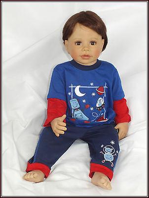 Baby Kinder Schlafanzug Set Anzug Pyjama Zweiteiler Gr 62 68 74 80 86 92 England