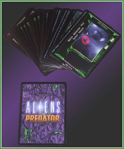 Alien vs Predator CCG Collectible Card Game Marines Starter Set 51 Cards Unused
