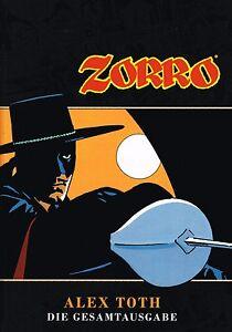 ZORRO-ALEX-TOTH-GESAMTAUSGABE-HC-deutsch-lim-200-Ex-Hardcover-Artprint