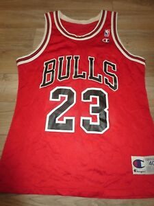 more photos 0438d cfa46 Details about Michael Jordan #23 Chicago Bulls Champion NBA Jersey 40