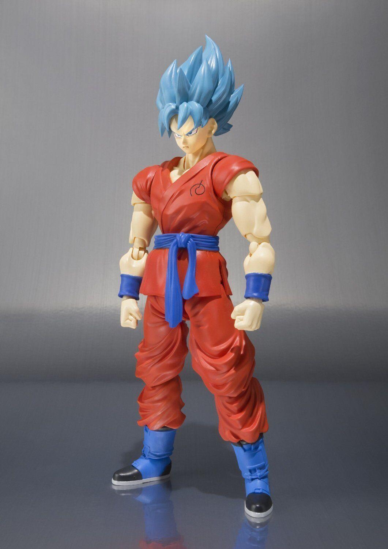 Bandai S.H.Figuarts Super Saiyan God bluee Son Goku Japan version
