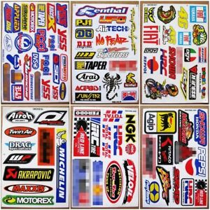 6-planches-Autocollant-Moto-GP-Supercross-ATV-Motocross-Racing-Decals-stickers