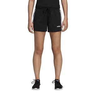 dirt cheap online retailer exclusive deals Details zu adidas Core Damen Fitness Sport Short Essentials 3-Streifen  Shorts schwarz
