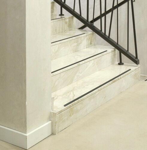 Anti anti-rayures 3cm + gommé Anthracite Noir + escalier marches de coffre