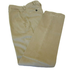 J 4151997 Nuevo Caqui Tan Chino Clasico De Tom Ford Frente Plano Pantalones Talla 30 De Ee Uu Ebay