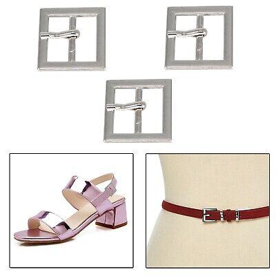 25mm Metall Silber Schnalle für Kunst Craft Verzierung Handtaschen Leder Schuhe