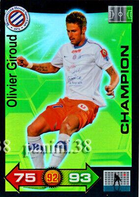 OLIVIER GIROUD # MONTPELLIER HERAULT.SC CARD PANINI ADRENALYN FOOT 2012