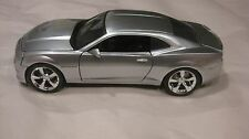 2010 Chevrolet Camaro SS In A Silver 1:24 Scale Diecast From Jada      New dc863