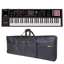 Roland Fa-06 Fa06 61-key Music Workstation & Cb-b61 Keyboard Bag Bundle