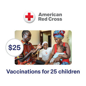 American-Red-Cross-25-Vaccinations-for-Children-Symbolic-Charitable-Donation