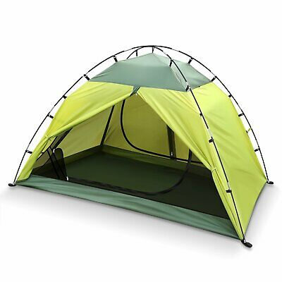 INTEY Outdoor Dome 2 Person Green Waterproof Camping Tent ...