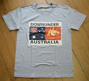 Men-Adult-Australian-Australia-day-Souvenir-T-shirt-Short-Sleeve-Top-Tee
