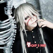 Kuroshitsuji black butler undertaker cosplay wig UK