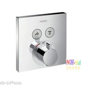 hansgrohe shower select thermostat select unterputz 2. Black Bedroom Furniture Sets. Home Design Ideas