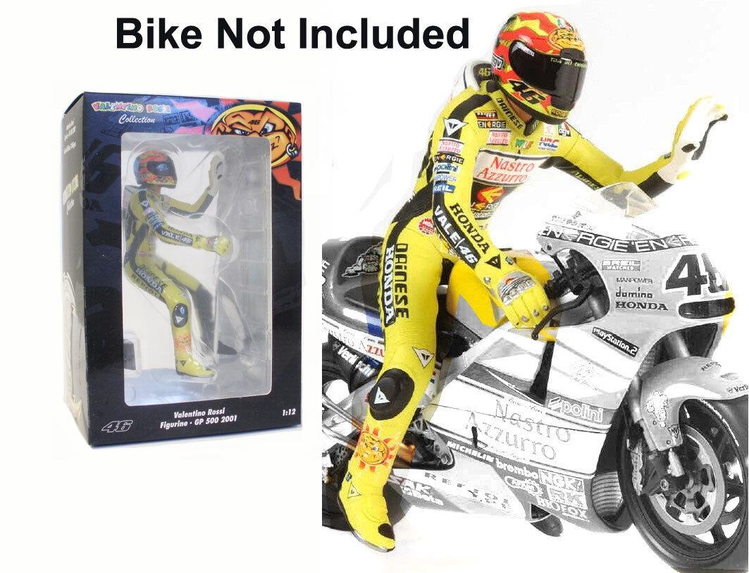 MINICHAMPS HONDA GP500 2001 1 12 Scale Figurine-Valentino Rossi