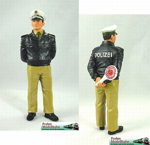 Gartenbahn Spur G 1:22,5  Neu Prehm 500045   Polizist grüne Uniform  f Ovp