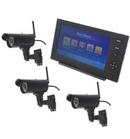Wireless Network Cctv With 3 X 20 Metre Night Vision External Cameras