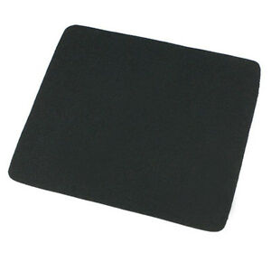 22*18cm Universal Mouse Pad Mat for Laptop Computer Tablet PC Black Excellent