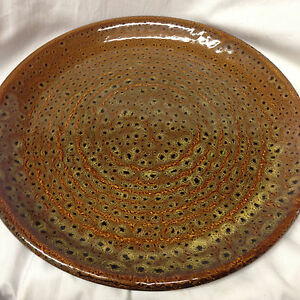 Image is loading JACLYN-SMITH-CHINA-TODAY-MOTTLED-BROWN-DINNER-PLATE- & JACLYN SMITH CHINA TODAY MOTTLED BROWN DINNER PLATE 10 5/8