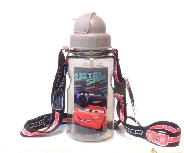 Étanche Disney Kids Baby Tritan BPA Free Bouteille D/'Eau 2-pailles bandoulière