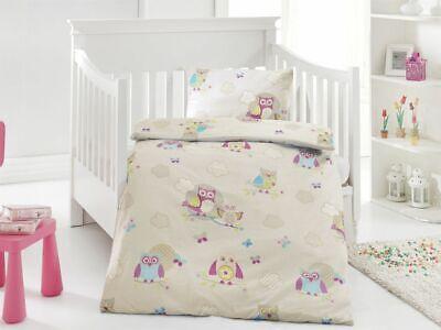 Kinder Baby Bettbezug Bettwäsche Bettgarnitur Baumwolle 100 X 135 Cm Angemessener Preis 4 Tlg Ausdauernd 2