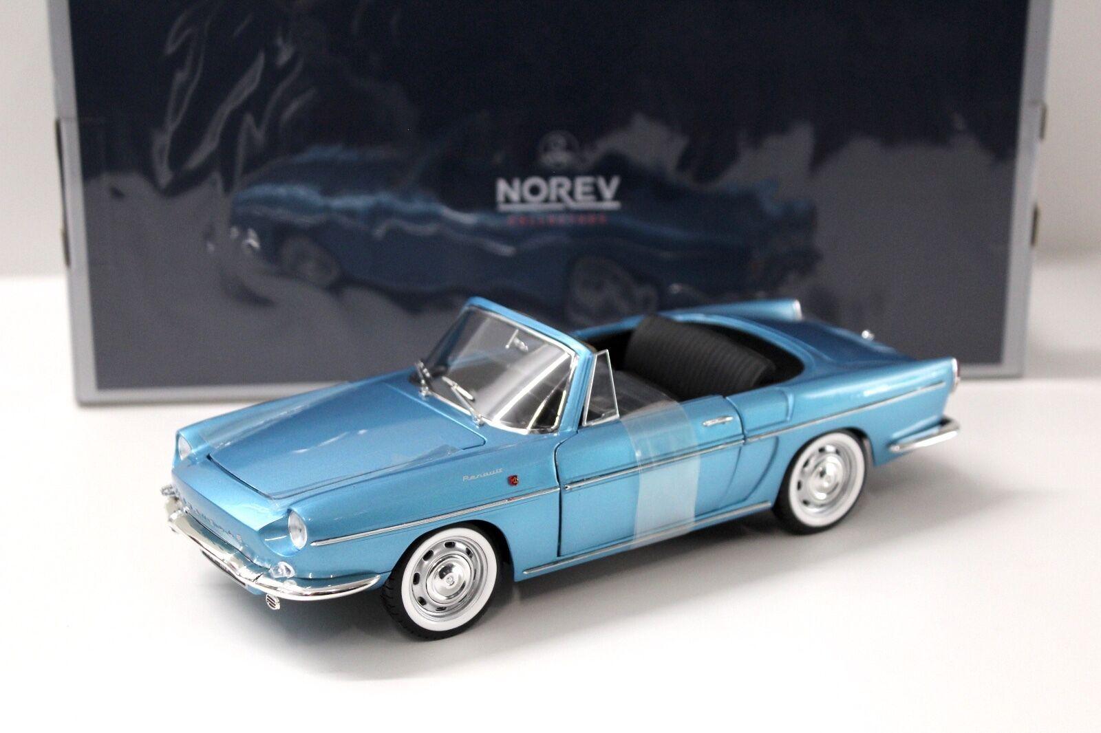 1 18 Norev Renault Caravelle Cabriolet 1964 Blau NEW bei PREMIUM-MODELCARS