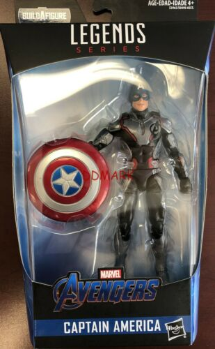 "Marvel leggende Avengers END GAME/'19 CAPITAN AMERICA BAF THANOS 6/"" Figura in mano"