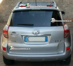 Per-Toyota-Rav-4-DAL-2006-AL-2012-barre-longitudinali-di-colore-argento